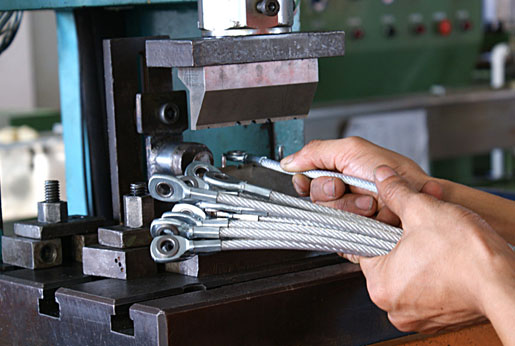 Custom Cable Assemblies Production Tables : Custom wire rope assemblies products vigour precision